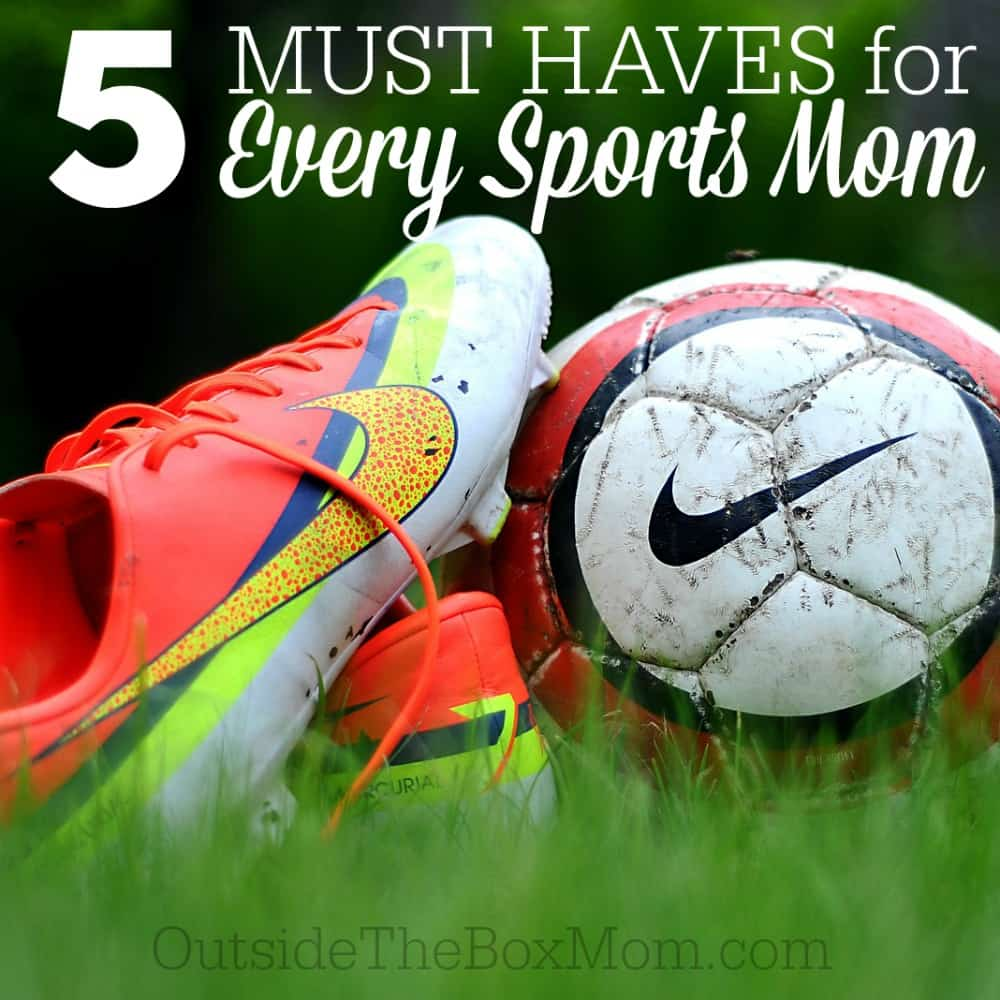 5 Must Haves for Every Sports Mom