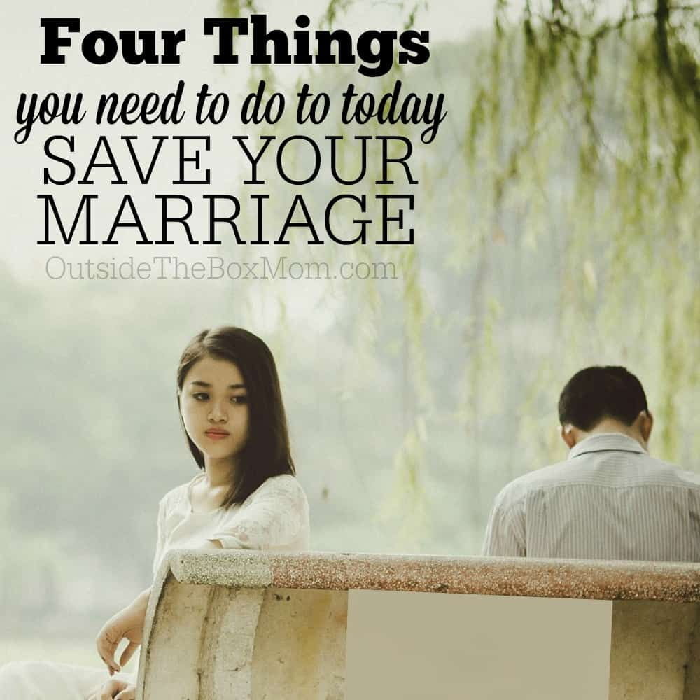 How to Save Your Marriage: Four Pieces of Real-Life Advice