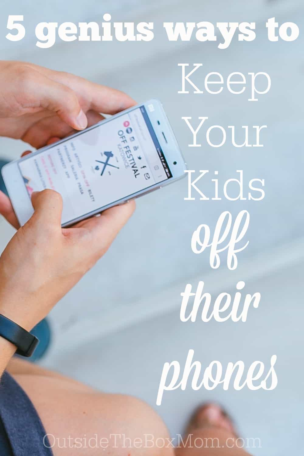Do you feel like your kids are constantly on their phones? Here are eight tips to keep your kids off their phone and engaged with your family.