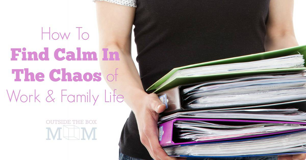 I'm overwhelmed by the busyness of my life. It's like I live on a rollercoaster racing between work and home. I feel like time is constantly slipping away from me. How did I get this way and will I ever get it under control? I'm so glad I found this post. It IS possible to find calm in the chaos of work and family life! Here are my best tips for surviving and enjoying life as a working mother.