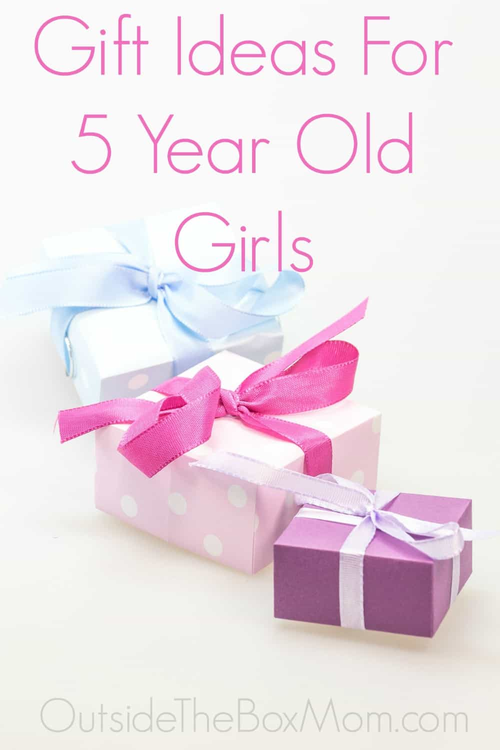 gift five year old girls pin