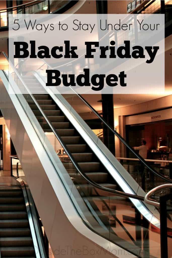 5 Simple Rules to Stay Under Budget On Black Friday
