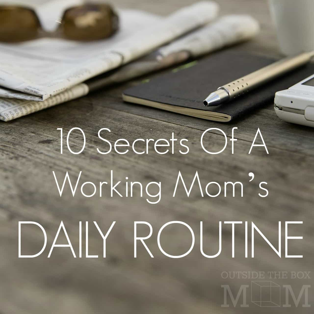Working moms what does your daily schedule look like? I feel like I have zero time to get things done around the house during the week. Why didn't I ever think of this solution?
