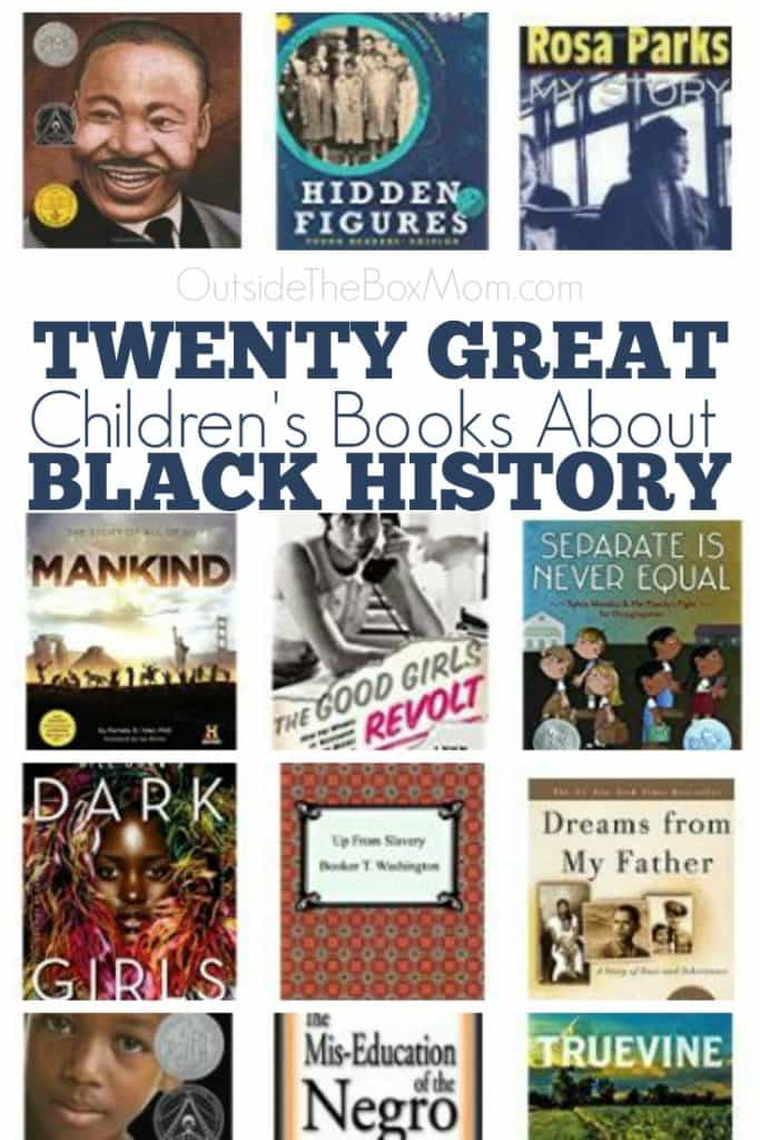 During Black History Month (or any time of year), there are some great books you can read with your kids. These educational titles will help your kids understand history, relate to historical figures, and inspire their futures.