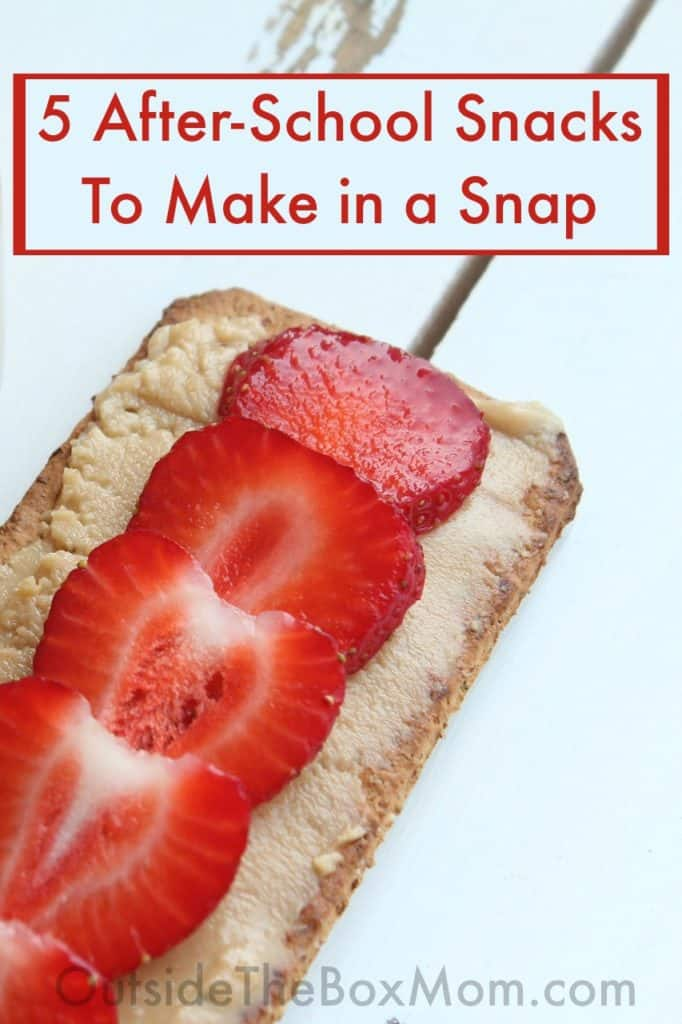 5 After-School Snacks To Make in a Snap