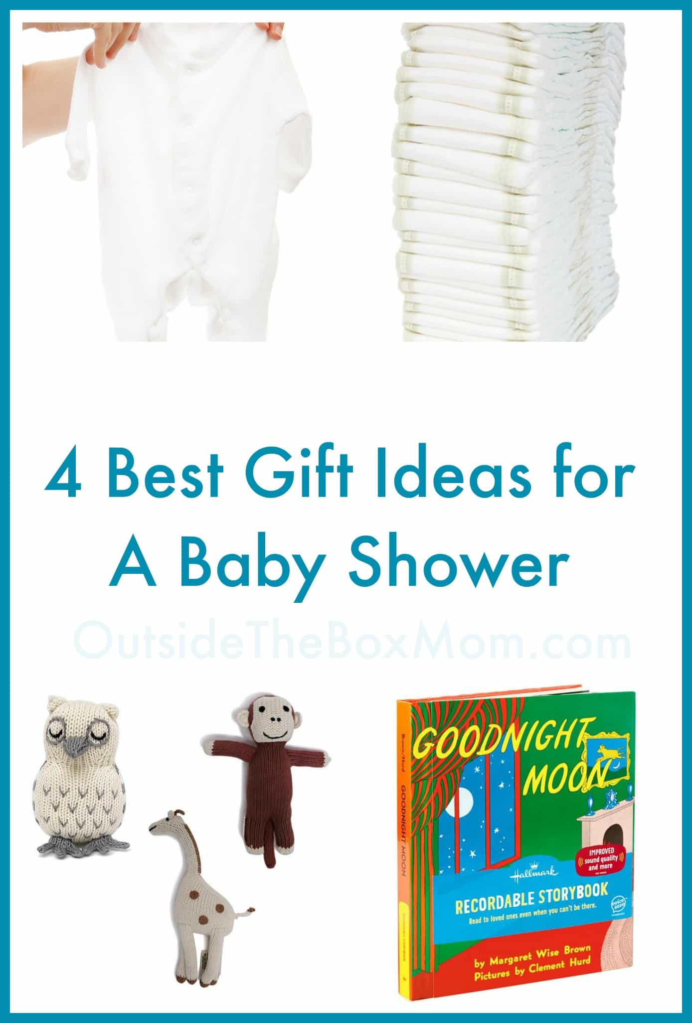 Are you looking for gift ideas for baby shower? This simple list will give you four practical ideas that the parents to be are sure to love.