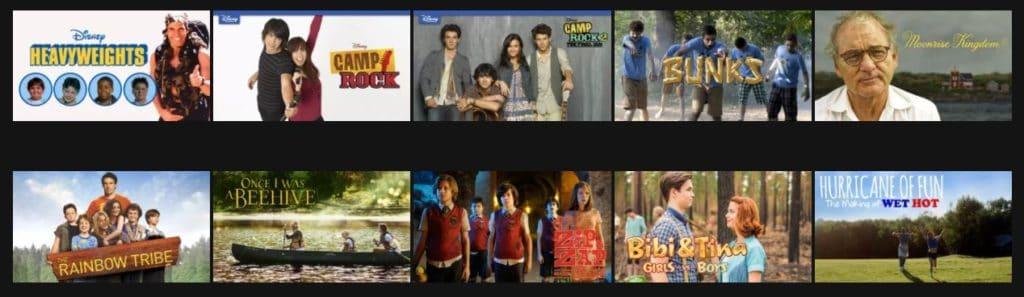 21 Summer Camp Movies on Netflix