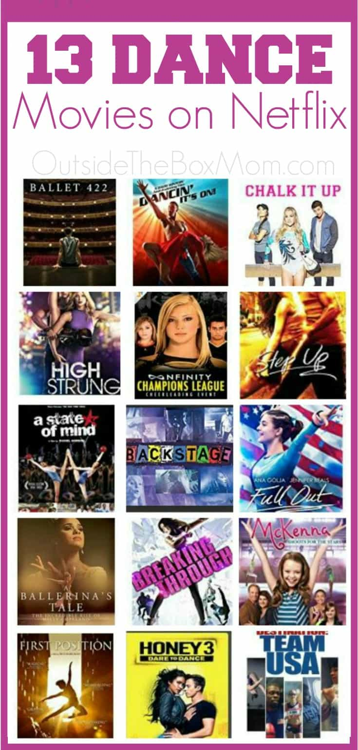 13 Dance Movies on Netflix - Working Mom Blog | Outside ...