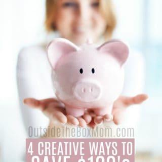 creative ways to save money | money saving tips
