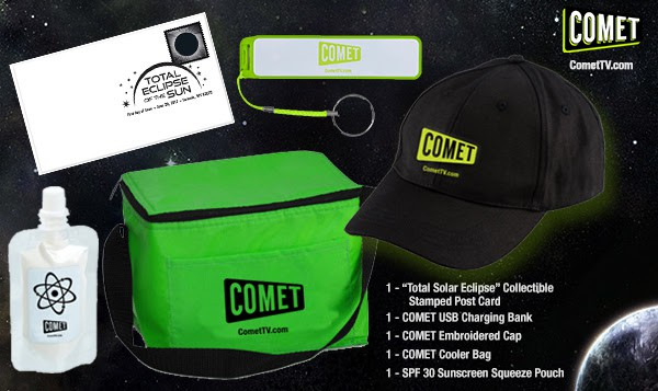 Comet TV Solar Eclipse Prize Pack