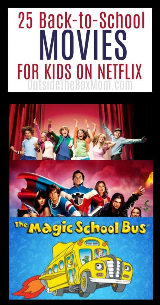 25 Back-to-School Movies on Netflix for Kids