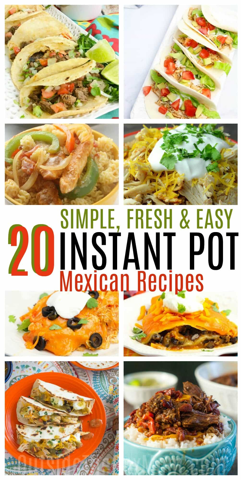 20 instant pot mexican recipes working mom blog outside the box mom mexican instant pot recipes instant pot recipes forumfinder Images