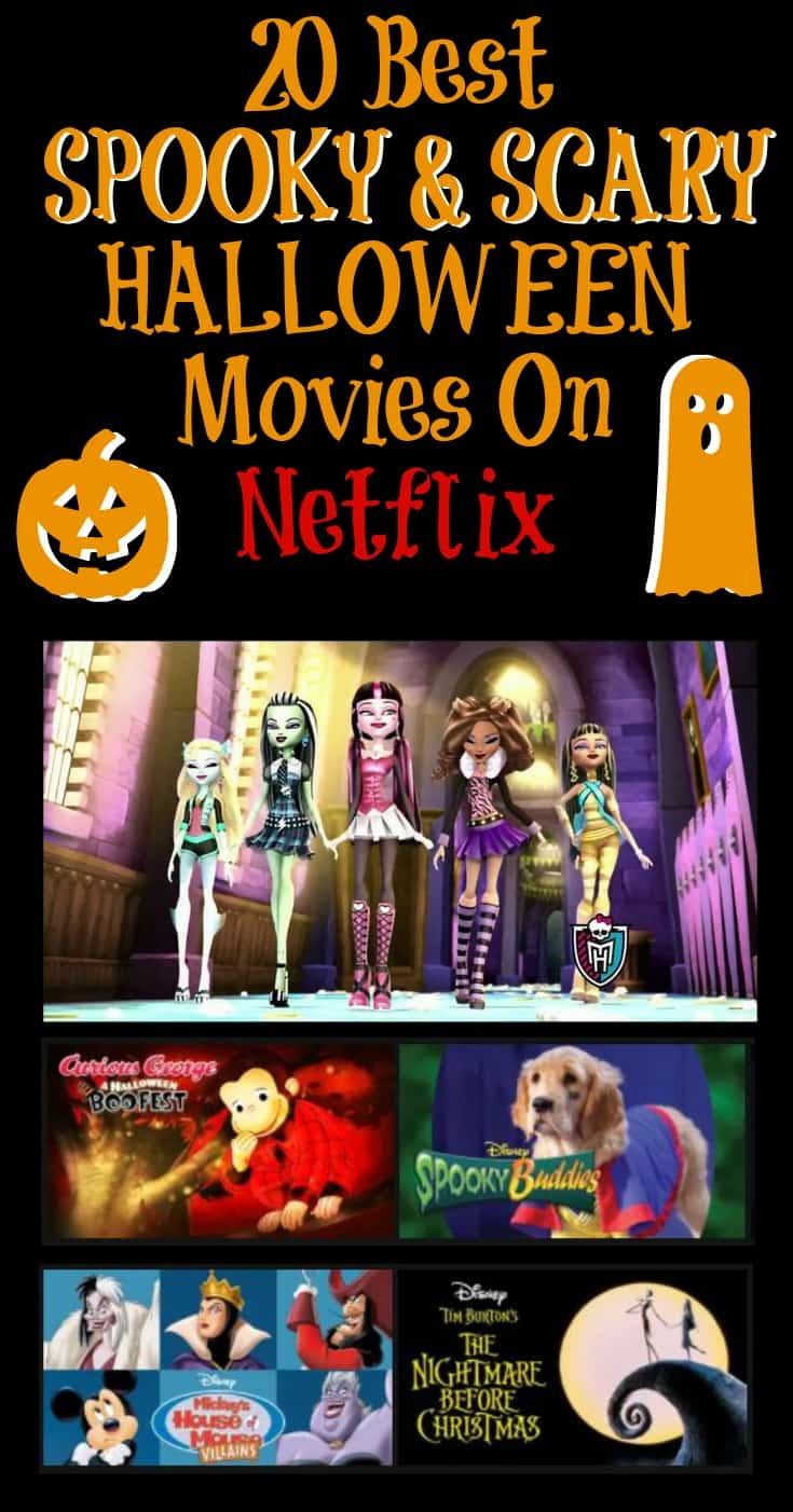 20 Best Spooky & Scary Halloween Movies on Netflix - Working Mom ...