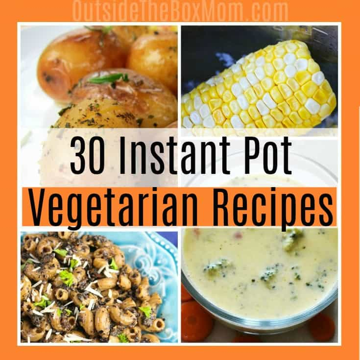 30 Instant Pot Vegetarian Recipes