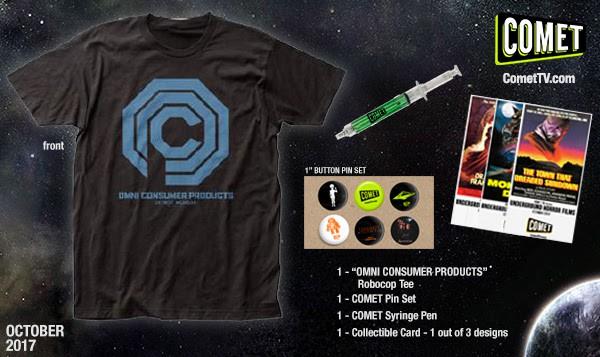 COMET TV Robocop Prize Pack