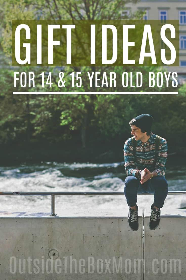 The Best Gift Ideas For 15 Year Old Boys That Also Make Great Gifts For 14 Year Old Boys Working Mom Blog Outside The Box Mom