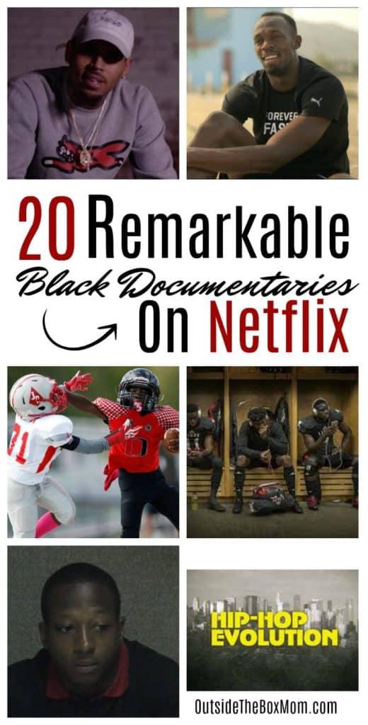 20 Black Documentaries On Netflix