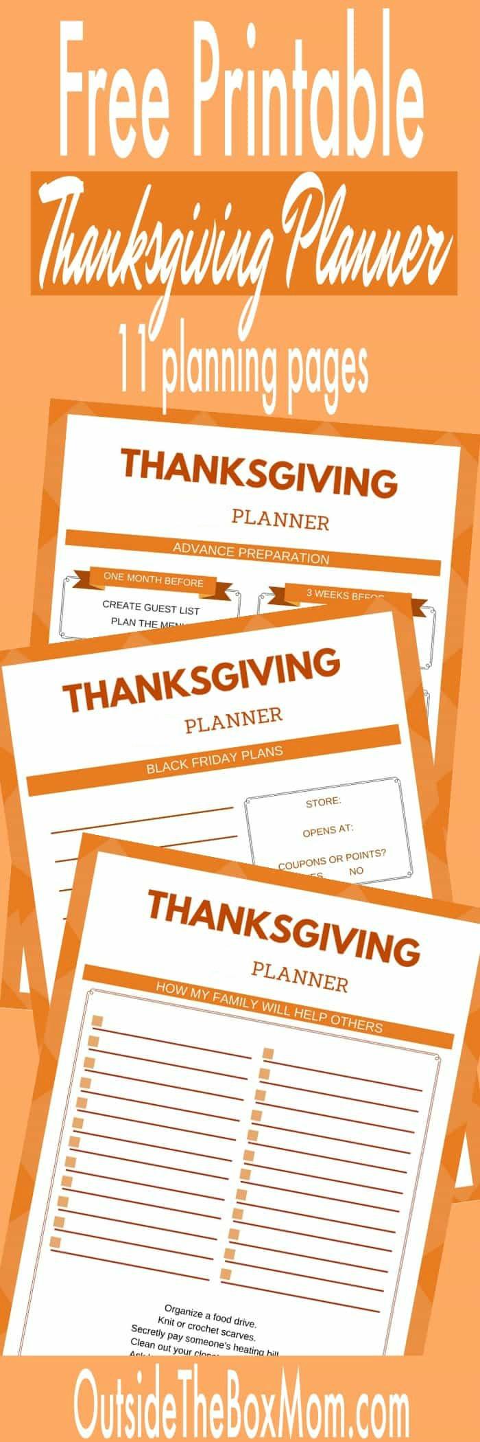 image regarding Thanksgiving Menu Planner Printable named The Best Thanksgiving Planner - Operating Mother Site