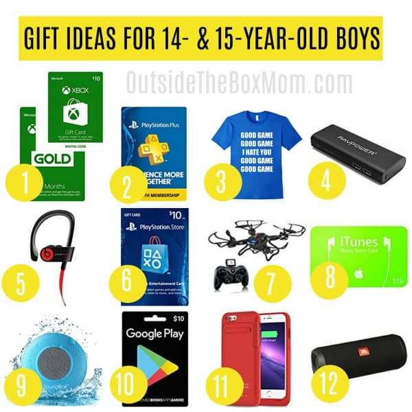 Good Gift Ideas For A 14 Year Old Boy Gallery