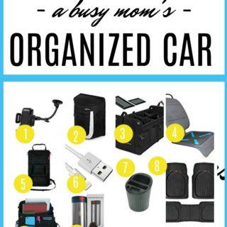 Gifts for A Mom's Car | Essentials for A Mom's Car | Mom Car Organization