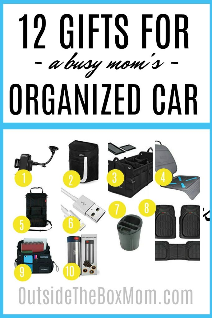 Gifts for a Busy Mom's Organized Car