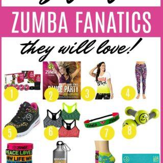 Zumba gifts | Gifts for a Zumba Fanatic | Zumba gift ideas