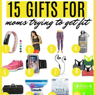gift ideas for moms trying to get fit | mom trying to get fit