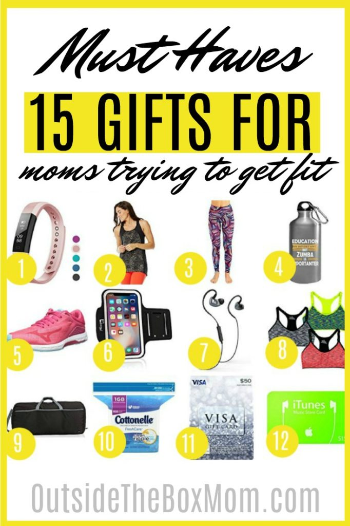Gifts for A Mom Trying to Get Fit