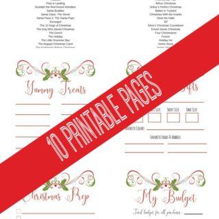 christmas planner printables | 2017 christmas planner | free christmas planner | christmas planner pages