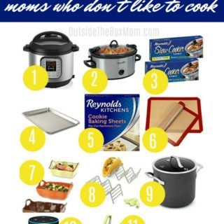 hate cooking | gift ideas for bad cooks | gifts for moms who dont like to cook