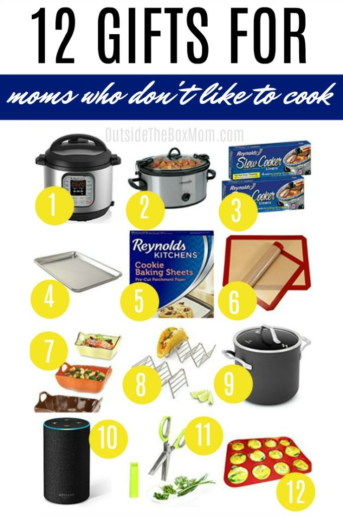 12 Gift Ideas for the Mom Who Doesn't Like to Cook