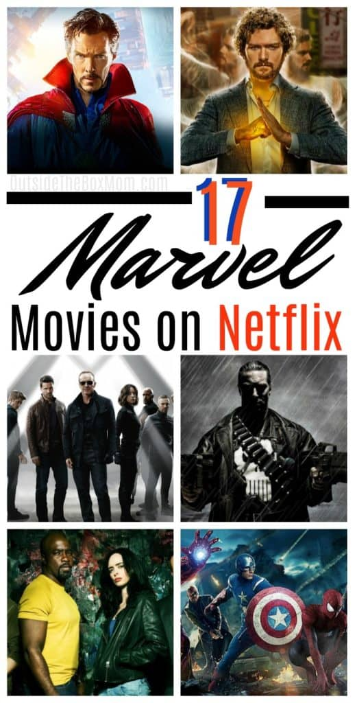 17 Marvel Movies on Netflix