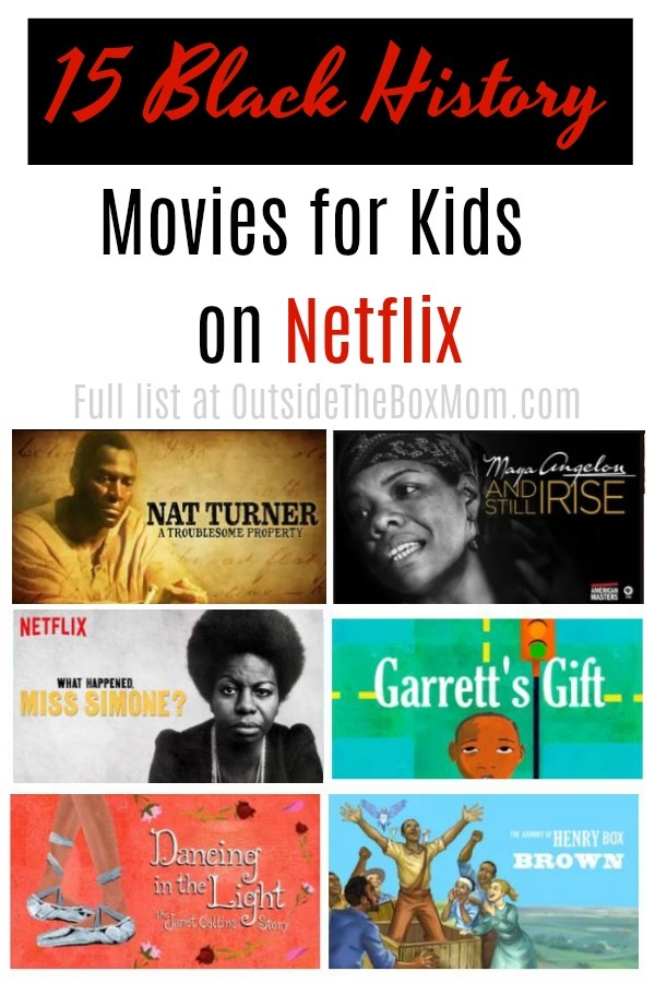 15 Kids' Black History Movies on Netflix