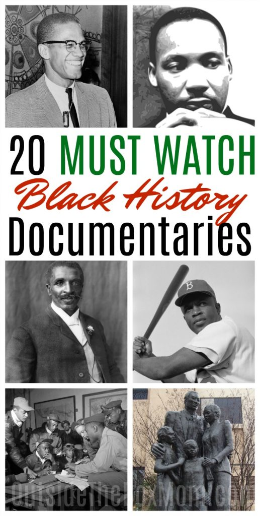 20 Must Watch Black History Movies