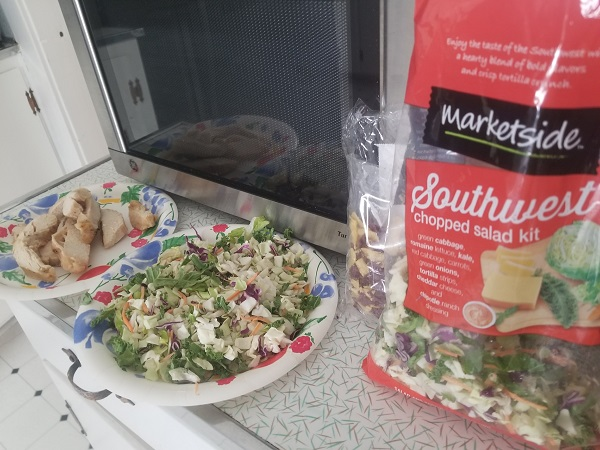 Salad Made With Tyson Grilled & Ready® Chicken Breast
