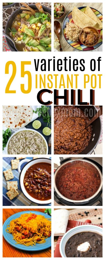 25 Instant Pot Chili Recipe Options