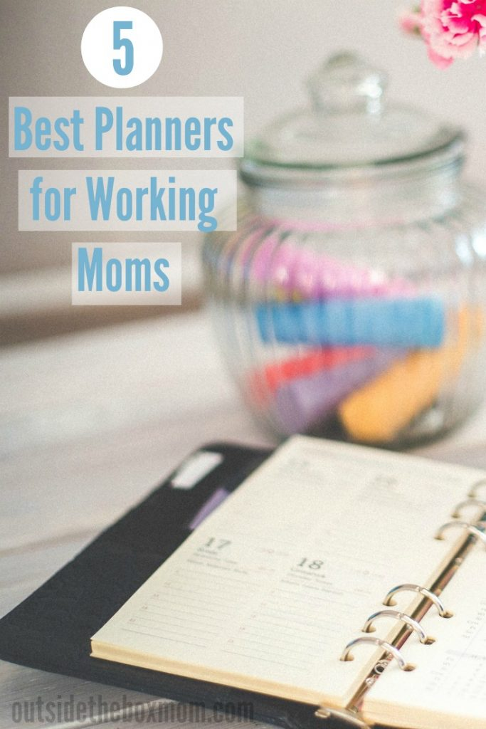 Best Planner for Working Moms (2019)