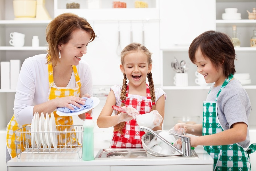 How to Get Your Children Involved in Household Chores